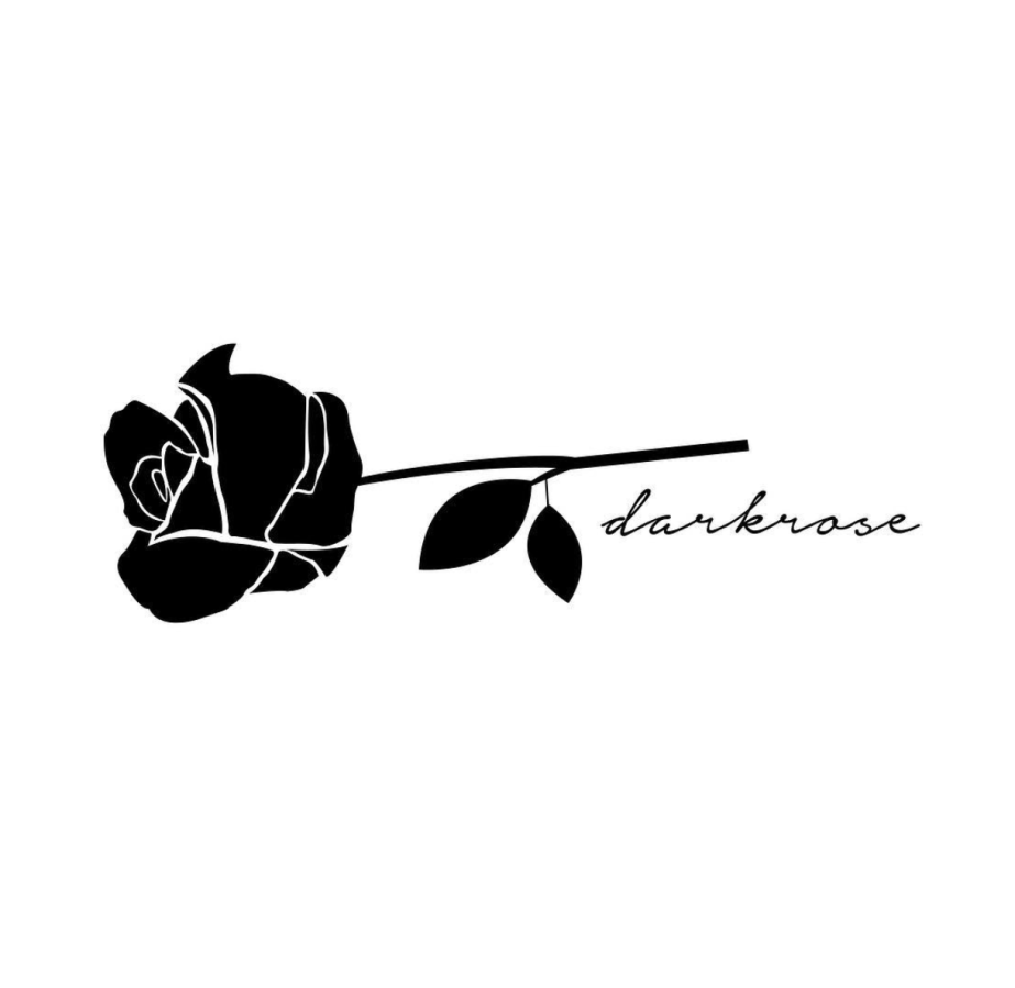 Dark Rose Logo Design Kim Pepin Graphic Design